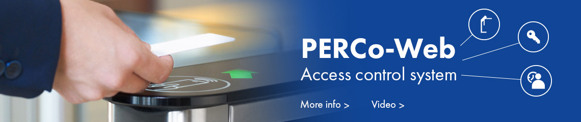 PERCo-Web Access control system