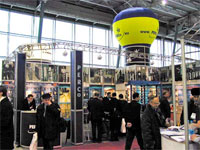 Exhibition space at the International Forum «Security and Safety Technologies 2004»