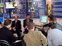 Lectures on the access control systems PERCo. St. Petersburg, Russia.