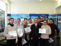 Upon completion of the workshop all participants were issued certificates of training.
