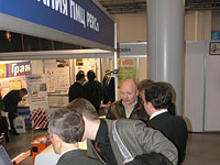 Sales and service center PMC PERCo took part in exhibition «Safety and security 2005» held at the Exhibition Complex Leneskpo. St. Petersburg, Russia.
