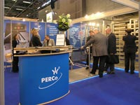 Exhibition stand at PERCo EXPOPROTECTION/FEU-2006. Paris, France.