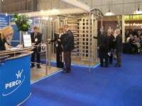 PERCo exposition at the exhibition EXPO PROTECTION-2006 in Paris, France.