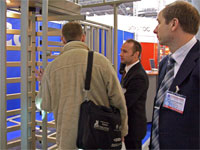 PERCo at the exhibition «Safety and security-2006», St. Petersburg, Lenexpo Exhibition Complex.