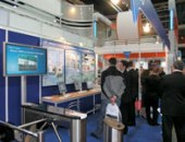 Booth security and efficiency of enterprise PERCo-S-20, the exhibition MIPS-2007, Moscow, Russia