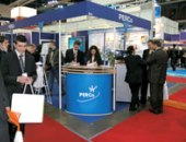 PERCo stand at the exhibition «Protection, Security and Fire Protection - MIPS 2007», Moscow, Russia.