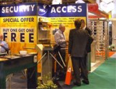 Company PERCo at the exhibition for Security IFSEC-2007 - Security Solutions & Network Advantage, Birmingham, UK.