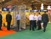 Company PERCo in Birmingham at an exhibition on safety IFSEC-2007, England