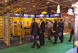 PERCo presented its turnstiles at IFSEC 2007 exhibition in UK