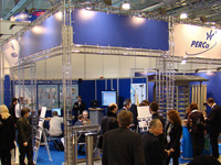 Company PERCo at the International Forum «Security and Safety Technologies-2008», Moscow, Russia.