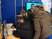 PERCo at the exhibition «Security and Safety Technologies-2008» Crocus Expo, Moscow, Russia.
