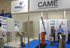 PERCo at SECURITY ESSEN 2008 in Germany