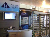 PERCo turnstiles at the exhibition STEX-2009 in Libya