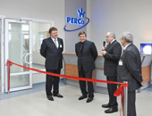 Opening a factory PERCo production systems and security equipment, Pskov, Russia.