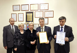 PERCo gets ISO 9001 certificates