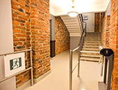 KT-02 IP stile and BH-02 railings, Pioner business-centre, Saint Petersburg