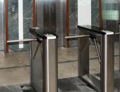 "PERCo box tripods. Business center ""Orlikov"", Moscow"
