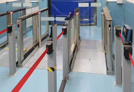 ST-01 Speed Gates, SBE France office, France