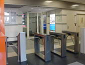 Box turnstiles TTD-03.2, Solutions Business Center, Moscow