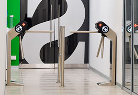 TTR-08A Tripod Turnstile, Skynet office, Saint Petersburg