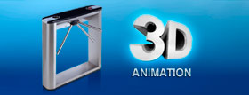 3D-animation of PERCo products