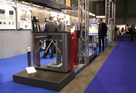 PERCo's equipment at the Polyclose-2012 Exhibition in Belgium.