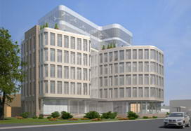 Project of new PERCo headquarters in Saint Petersburg