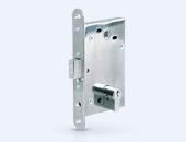 LB-series electromechanical mortise locks with a power supply through the locking bolt