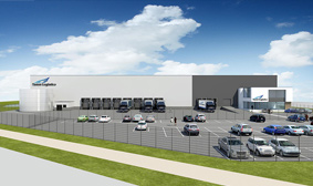 PERCo has opened a new warehouse in the Netherlands