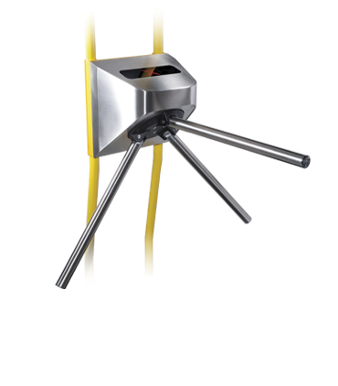 TTR-10AT Motorized tripod turnstile for transport, with automatic anti-panic function