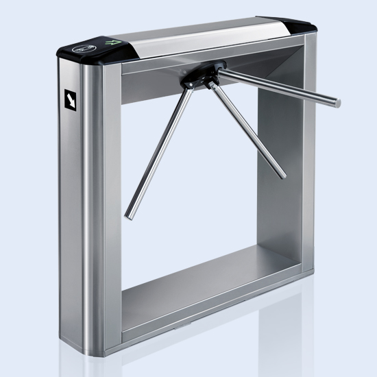 Ttd a box tripod turnstile for outdoor use with