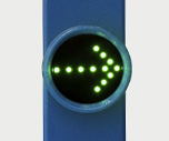 LED indicator of way direction