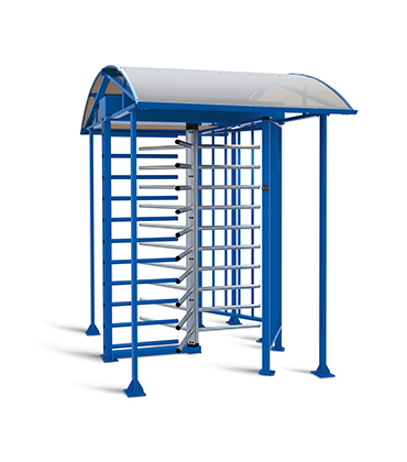 RTD-16.1S Full height rotor turnstile