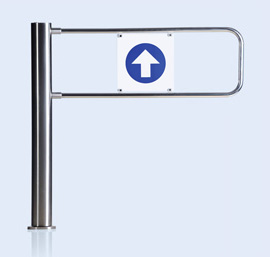 WMD-05SW motorized swing gate with swing panels AG-1100