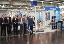 PERCo exhibits its products in Germany