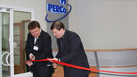 The opening ceremony of PERCo manufacturing plant