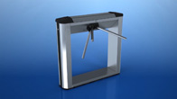 TB-01 box tripod turnstile